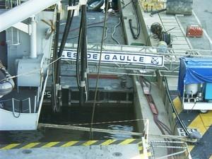 Visite du porte-avions Charles de Gaulle
