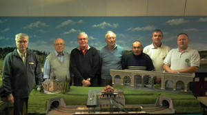 L'Equipe de la section maquette train du MCCR