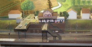 Gare de Viroflay sur son support