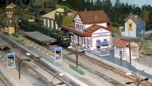 Vue générale de la gare et passages souterrains