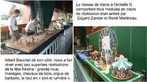 Exposition de modélisme à Villepreux