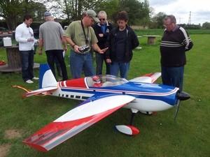 Peter en préparation d'une QPDD Avion catégorie 2